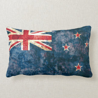 Flag of New Zealand Lumbar Pillow