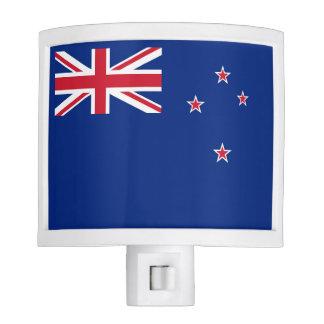 Flag of New Zealand Night Lights