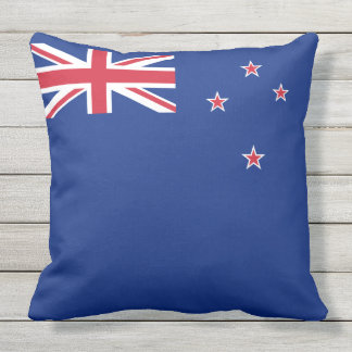 Flag of New Zealand Outdoor Pillow