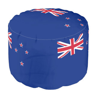 Flag of New Zealand Pouf