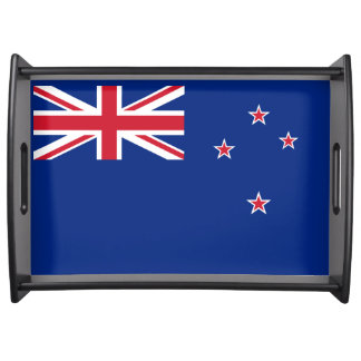 Flag of New Zealand Serving Tray