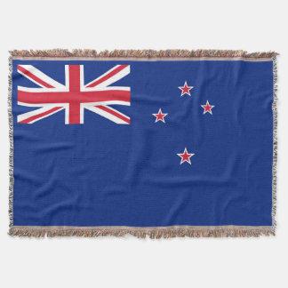 Flag of New Zealand Throw Blanket