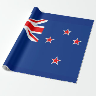 Flag of New Zealand Wrapping Paper