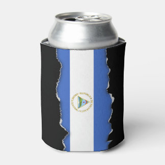 Flag of Nicaragua Can Cooler