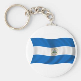 Flag of Nicaragua Keychain