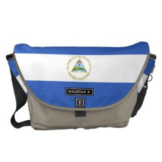 Flag of Nicaragua Messenger Bag