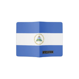 Flag of Nicaragua Passport Holder