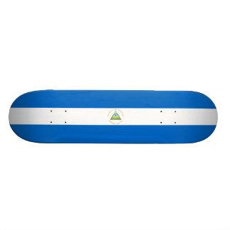 Flag of Nicaragua Skateboard Deck