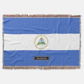 Flag of Nicaragua Throw
