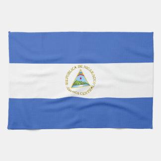 Flag of Nicaragua Towel