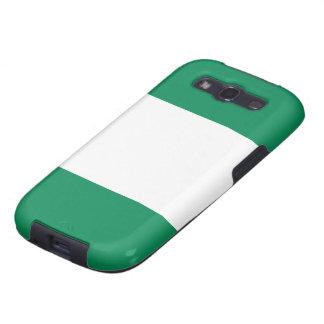 Flag of Nigeria Samsung Galaxy SIII Cases