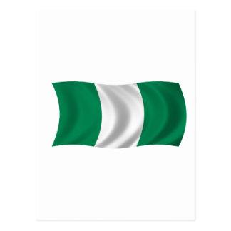 Flag of Nigeria Postcard