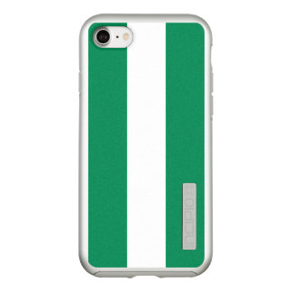 Flag of Nigeria Silver iPhone Case