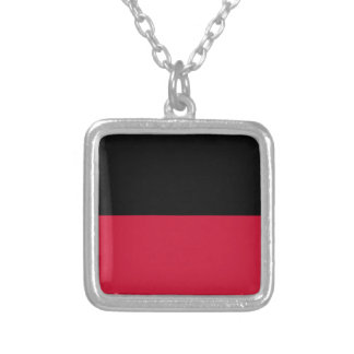 Flag of Nijmegen Silver Plated Necklace