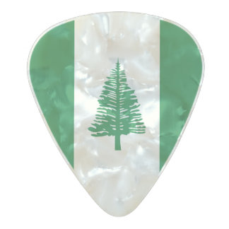 Flag of Norfolk Island Guitar Picks Pearl Celluloid Guitar Pick