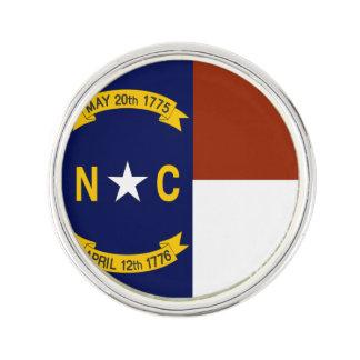 Flag of North Carolina Lapel Pin