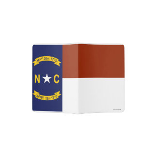 Flag of North Carolina Passport Holder