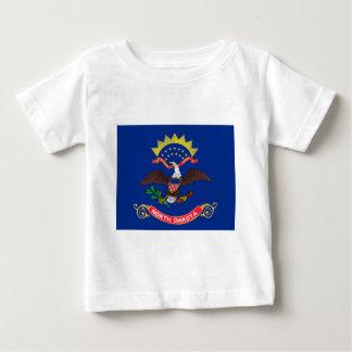 Flag Of North Dakota Baby T-Shirt