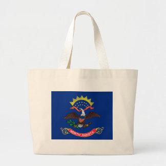 Flag of North Dakota Tote Bag