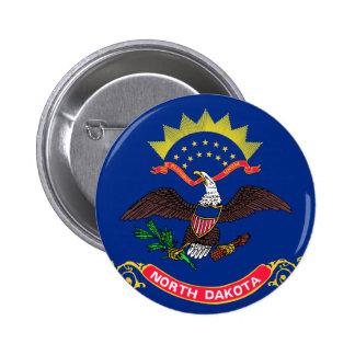 Flag of North Dakota Pin