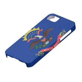Flag of North Dakota Case For The iPhone 5