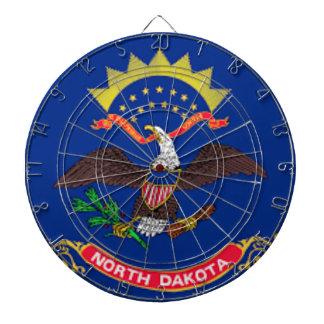 Flag Of North Dakota Dartboard