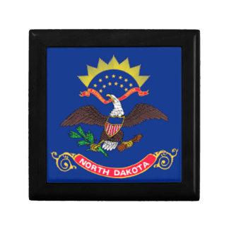 Flag Of North Dakota Gift Box