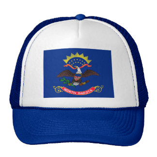 Flag of North Dakota Mesh Hats