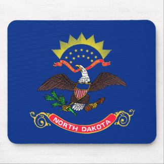 Flag of North Dakota Mousepads