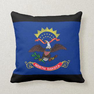 Flag of North Dakota Pillows