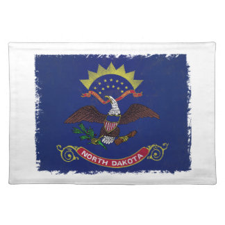 Flag of North Dakota Placemats