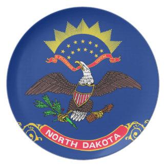 Flag of North Dakota Plates