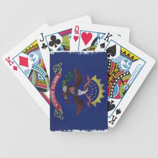 Flag of North Dakota Bicycle Poker Cards