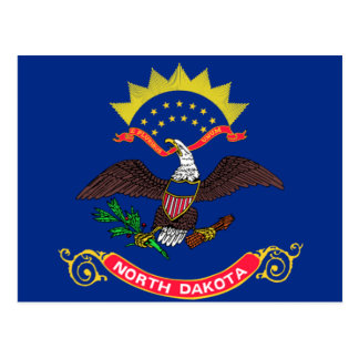 Flag of North Dakota Postcard