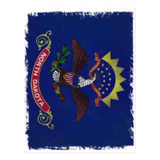 Flag of North Dakota Postcard