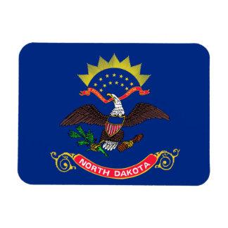 Flag of North Dakota Rectangular Photo Magnet