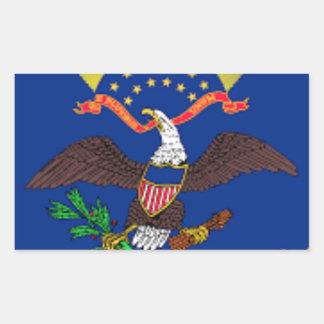 Flag Of North Dakota Sticker
