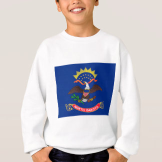 Flag Of North Dakota Sweatshirt