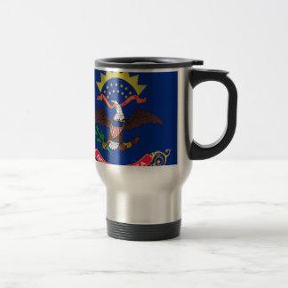 Flag Of North Dakota Travel Mug