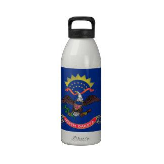 Flag of North Dakota Drinking Bottles