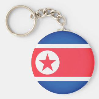 Flag of North Korea Keychain
