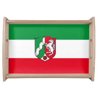 Flag of North-Rhine Westphalia Serving Tray