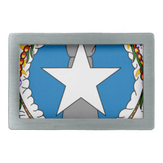 Flag Of Northern Mariana Islands (USA) Belt Buckle