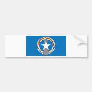 Flag Of Northern Mariana Islands (USA) Bumper Sticker