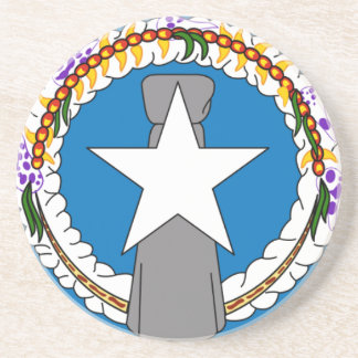Flag Of Northern Mariana Islands (USA) Coaster