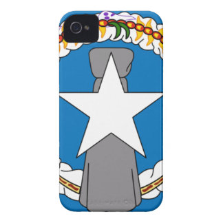 Flag Of Northern Mariana Islands (USA) iPhone 4 Covers