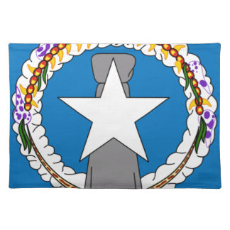 Flag Of Northern Mariana Islands (USA) Placemat