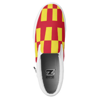 Flag of Northumberland Slip-On Sneakers