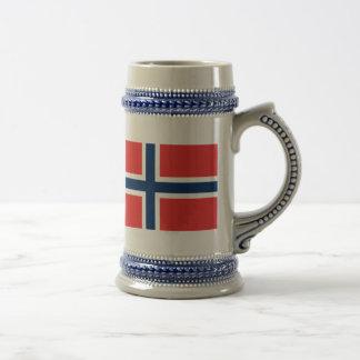 Flag of Norway Beer Stein