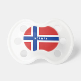 Flag of Norway Pacifier